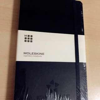 【LAST PIECE!】Moleskine Black Hard Cover Notebook