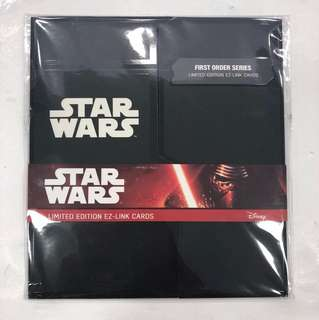 Starwars Limited Edition Ezlink Card Collectors Edition