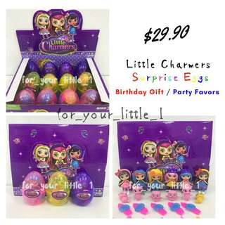 Little Charmers Surprise Eggs / Party Favor / Birthday Gift