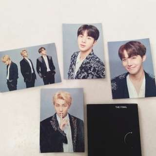 Official BTS mini photocard (The Final)