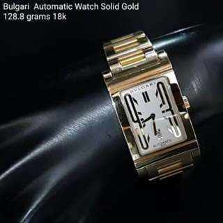 Bvlgari Automatic Watch Solid Gold