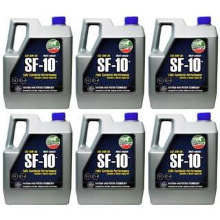 Pertua SF-10 Fully Synthetic Oil (Gasoline and Diesel Engine) 4L 1 Box (6S)