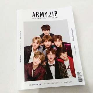 Official Bts Army Zip magazine