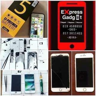 Iphone repair LCD, BATTERY etc