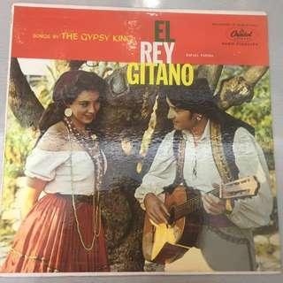Rafael Farina – El Rey Gitano, Vinyl LP, Capitol Records – T10072, 1957, USA