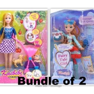 2 for $18 2018 Fashion Dolls Bundle