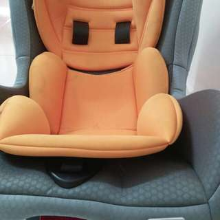 Car seat sweet heart cherry
