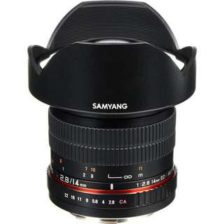 Samyang 14mm Ultra Wide-Angle f/2.8 IF ED UMC Lens for Canon EF Mount