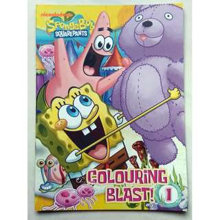 SpongeBob Squarepants Colouring Blast 1