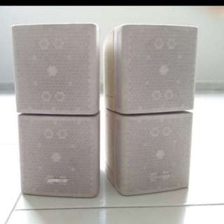 Bose double cubes white