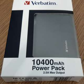 Verbatim 10400mAh Power Pack