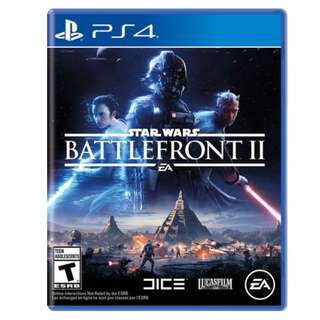 PS4 Game: Star Wars Battlefront 2