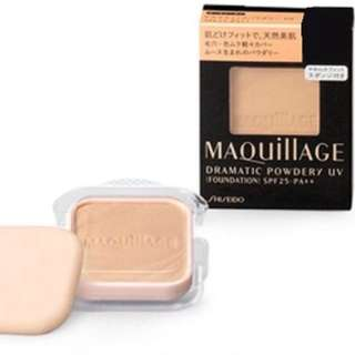 Shiseido Maquillage Dramatic Powdery UV OC10, Ochre10 Foundation (refill)