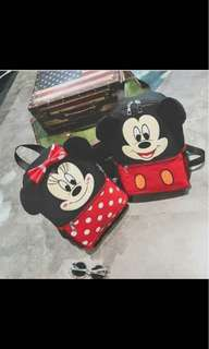 Minnie anf d mickey mouse backpack