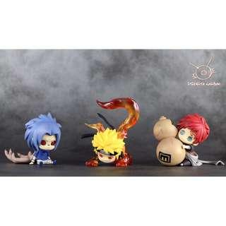 Naruto Shippuden Strength Kingdom Uzumaki Naruto / Uchiha Sasuke / Gaara Q Figure