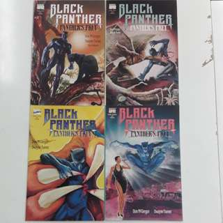 Black Panther Panther's Prey (1991 Marvel) Comics Set