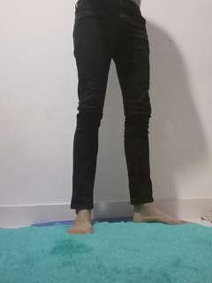 FS : Lee jeans size 30, skinny fit black