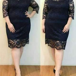 CS705 Jumbo brukat dress,,Matt Brukat furing, LD-115 PJ-94 fit to L, berat 0.25kg
