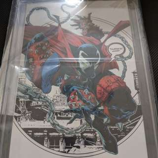 "Image Comics Spawn #1 ""Thank You"" Retailer Incentive. CGC 9.8"