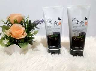charcoal for purifying cleanser