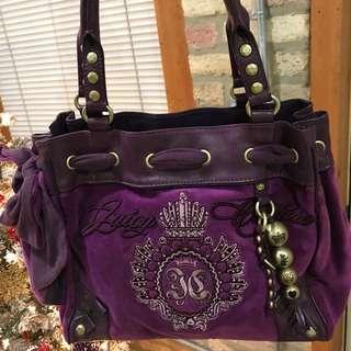 Juicy Couture Purple Purse Handbag