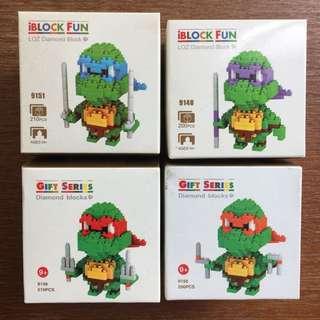 Ninja Turtles mini blocks