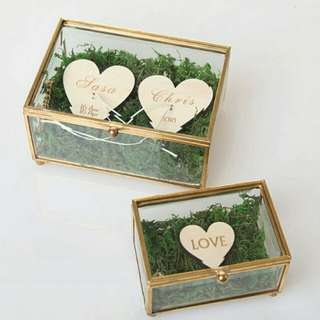 Unique Wedding Jewelry Box Ring Bearer Pillow Wedding