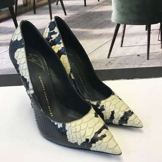 Giuseppe Zanotti Design Snake Skin Leather High Heel