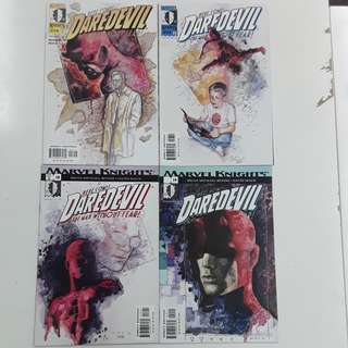 Daredevil (1998 2nd Series) Wake Up Comics Set