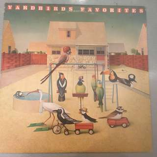 Yardbirds ‎– Favorites, Vinyl LP, Epic ‎– 34490, 1977, USA