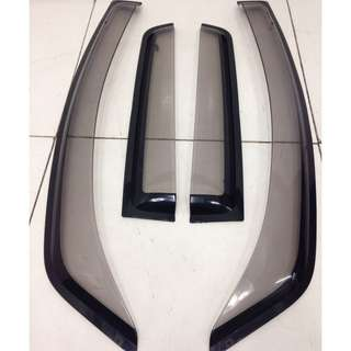 Mitsubishi Colt Window Visor (AS2277)