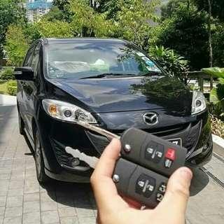 Mazda remote key