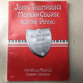 琴書 John Thompson's Second Grade