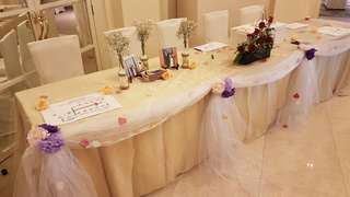 Sheer Cloth. Deco. Wedding. Events