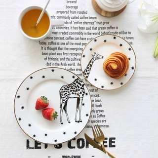 人妻少女的餐桌  動物主題小餐盤