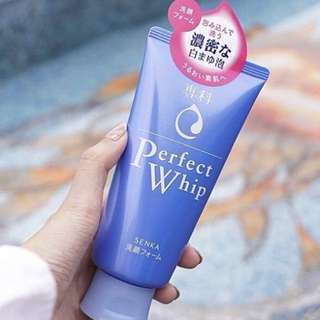 "Perfect Whip Senka ""face cleanser"""