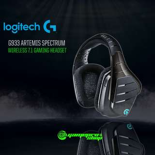 Logitech G933 (981-000600) Artemis Spectrum Wireless 7.1 Surround Sound Gaming Headset