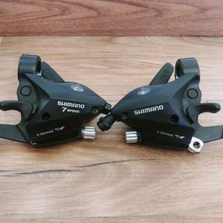 For sale shimano 7speed brake-shifter