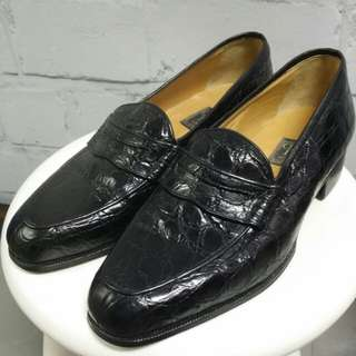 Christian Dior Loafer 鱷魚皮鞋 (Dior Homme前身)Size_6