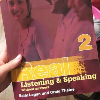 Real listening & speaking without answers