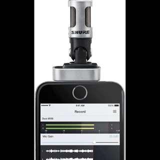 Shure mv88 iPhone ipad