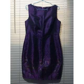 Semi-Formal Purple Dress