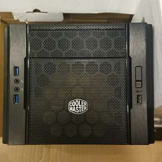 cooler master elite 130 m-itx pc chassis.compurter case