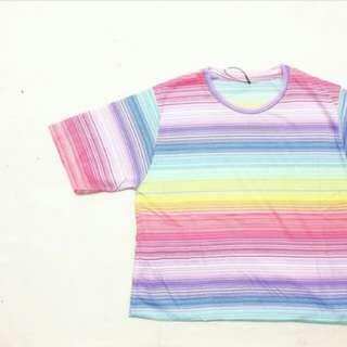 Kaos pendek colourfull