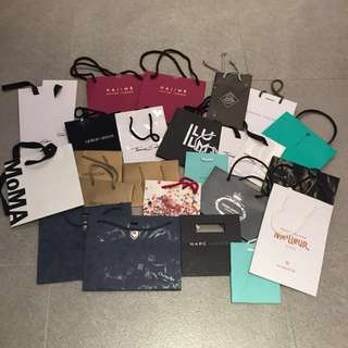 Branded paper bags