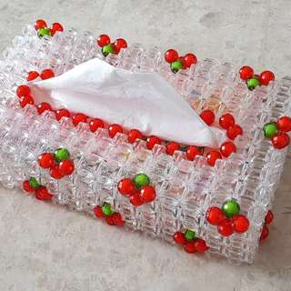 Handmade Acrylic Beads Tissue Holder
