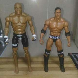Wwe the rock elite and ufc silva