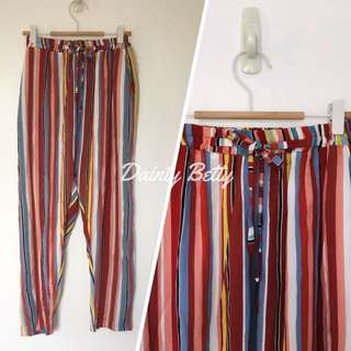 Plus size drape pants