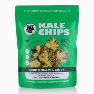 Take Root kale chips 60g 50% off