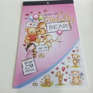 [Free NM] Cute Bear Stickers